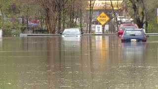 Video shows flooding in Dearborn Heights on May 1, 2019