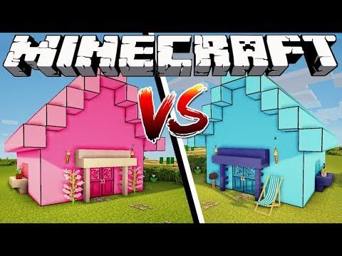 Xxx Mp4 GIRL HOUSE VS BOY HOUSE Minecraft 3gp Sex