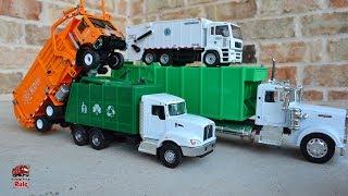 Garbage Truck Videos For Children l Garbage Truck Trash Pick Up Celebration l Garbage Trucks Rule
