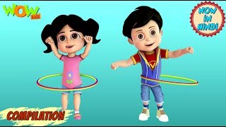 Johnny Johnny and many more Hindi songs | Popular song collection with Vir: The Robot Boy | WowKidz