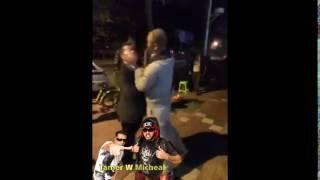 Hilarious Crazy Asians Spit Fight لما ٢ من المعادي يتخانقوا 😂😂😂