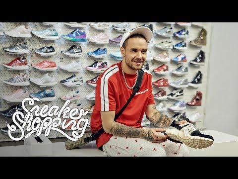 Download Liam Payne Goes Sneaker Shopping With Complex free