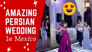 Beautiful Persian Destination Wedding in Cancun, Mexico 2019