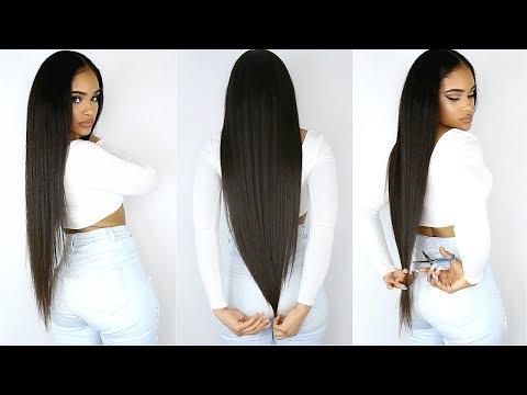 Xxx Mp4 CUTTING MY OWN SUPER LONG HAIR Going Natural 3gp Sex