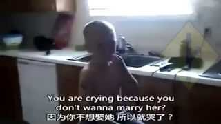Mother Tries To Force Little Boy To Get Married, But He Refuses HD + chinese subtitles