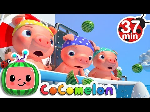 Three Little Pigs 2 (The Big Ship Sails on the Alley Alley Oh)   +More... - ABCkidTV