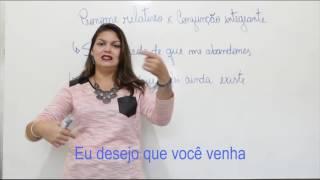 Dicas de Português (pron relativo X conjunção Integrante) para concursos militares