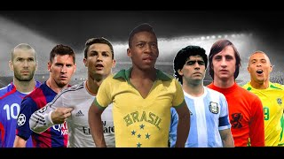 Top 20 Best Football Players of All Time • HD