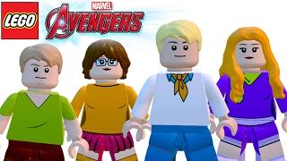 LEGO Vingadores (Avengers) Personagens do Scooby Doo - Fred, Daphne, Velma e Salsicha (MOD)