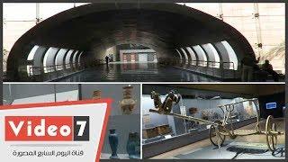المتحف القومى للحضارة المصرية الجديد بالفسطاط.. تحفة معمارية