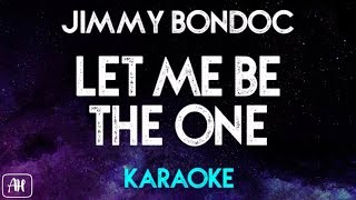 Jimmy Bondoc - Let Me Be The One (Karaoke/Instrumental) [Piano Version]