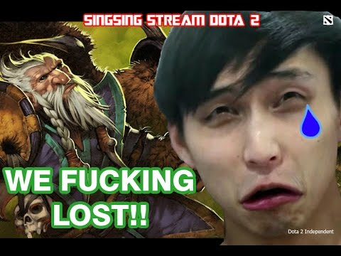 Singsing Stream Dota 2 VIDEOS : WE FUCKING LOST - as Lone Druid - Full Match
