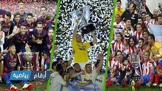 الفرق الفائزة بالدوري الإسباني من سنة 2000 إلى سنة 2016
