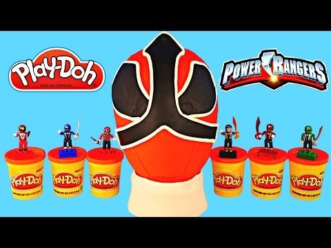 HUGE POWER RANGERS Play Doh Surprise Egg Minecraft LEGO Spongebob Thomas & Friends Cars