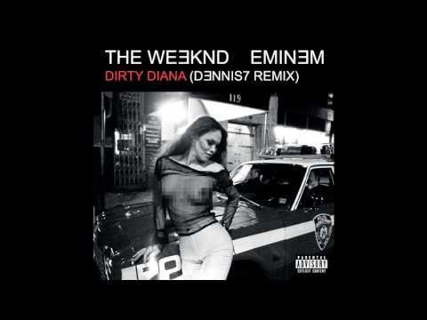 Xxx Mp4 The Weeknd Eminem Dirty Diana Remix HQ Audio Only 2017 3gp Sex