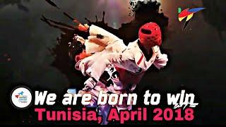 2018 Junior World Taekwondo Championships (Tunisia, April 2018). Official promo (HD).