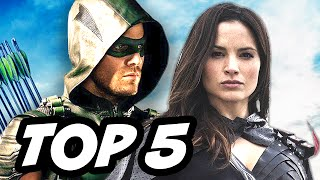 Arrow Season 4 Episode 13 - TOP 5 WTF and Easter Eggs