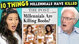 10 Things Millennials Have Killed | Millennials & Boomers React
