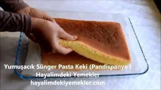 Yumuşacık Sünger Pasta Keki (Pandispanya )