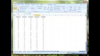 Microsoft Excel: How To Freeze Rows Or Columns