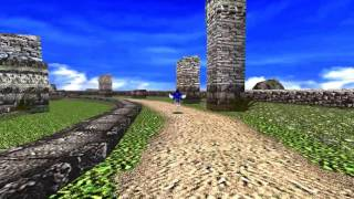 CANCELLED Sonic Adventure DX Ultimate Edition HD Texture Pack and SweetFX Shaders Teaser