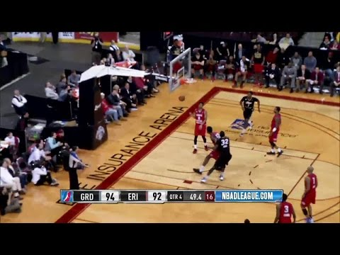 Melvin Ejim posts 20 points & 11 rebounds vs. the Drive, 2/5/2016