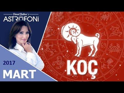 KOÇ Burcu MART 2017 Astroloji ve Burç Yorumu