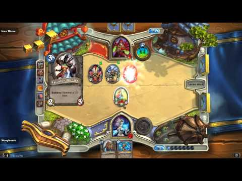 Jeanni gets Wrecked in Hearthstone.