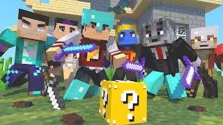 Minecraft: HARDCORE DA SORTE #1 - QUE SOBREVIVA O MELHOR ‹ AM3NIC ›