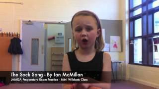 Sock Song - Wildcats Theatre School LAMDA exam preparation