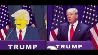 Bajka Simpsonowie przewidziała  kandydaturę Donalda Trumpa?  Było to aż 15 lat temu...