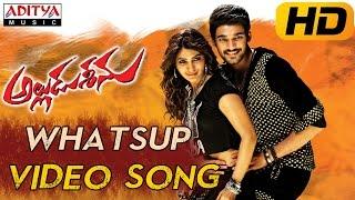 Whatsup Antu Full Video Song || Alludu Seenu Video Songs ||  Sai Srinivas, Samantha