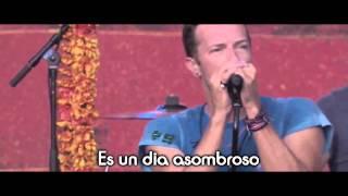 Coldplay  Amazing Day Live Letra Espaollyrics2015