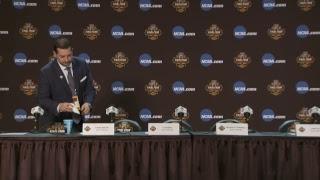 News Conference: South Carolina vs. Gonzaga Postgame