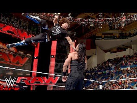 Xxx Mp4 Roman Reigns Vs Alberto Del Rio Raw April 25 2016 3gp Sex