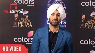 Diljit Dosanjh At Colors Golden Petal Awards 2017 | Viralbollywood