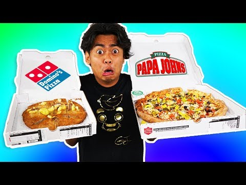 Xxx Mp4 I Tried Ordering Every Topping On My Pizza From Papa Johns Dominos 3gp Sex