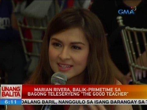 Xxx Mp4 UB Marian Rivera Balik Primetime Sa Bagong Teleseryeng The Good Teacher 3gp Sex