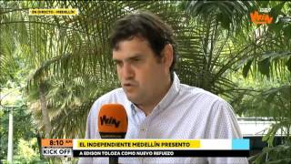 A Medellín solo le falta un defensa central: Eduardo Silva Meluk   Win Sports