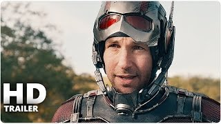 ANT MAN Trailer 1 + 2 German Deutsch | Marvel Film 2015 | Paul Rudd
