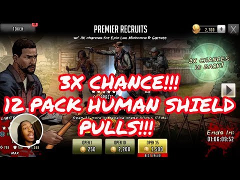 Xxx Mp4 Walking Dead Road To Survival 3x Chance HUMAN SHIELD 12 PULLS 3gp Sex