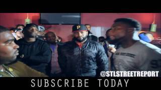 ** KD (STL)  vs Showoff (NYC) 1rd battle  [ Hosted by Aye Verb & Hitman Holla ]