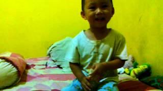 Nathan Ryu 2 Tahun 9 Bulan, Nyanyi lagu anak-anak 24082013299