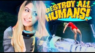 ALIENS KIDNAPPED MISS ROCKWELL! | Destroy All Humans #1
