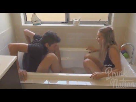 Xxx Mp4 BF Vs GF Ice Bath Challenge Funny Videos 3gp Sex