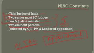 NJAC - National Judicial Appointment Commission