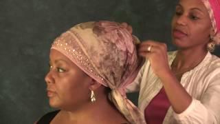 "HEADWRAP TUTORIAL: ""Tichel Style"" Wrap By Dr. D.L. Teamor"