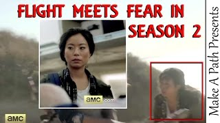 Charlie from Flight 462 Joins Fear TWD Characters in Season 2 Beach Attack