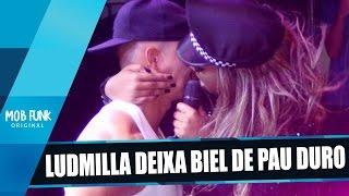 Ludmilla deixa Biel de PA() Duro em show e beija na boca