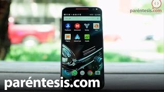 Motorola Moto X Style, review en español